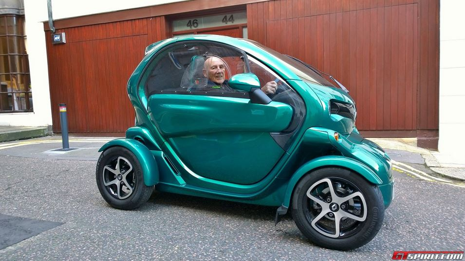 Renault Twizy upgraded by Bilstein
