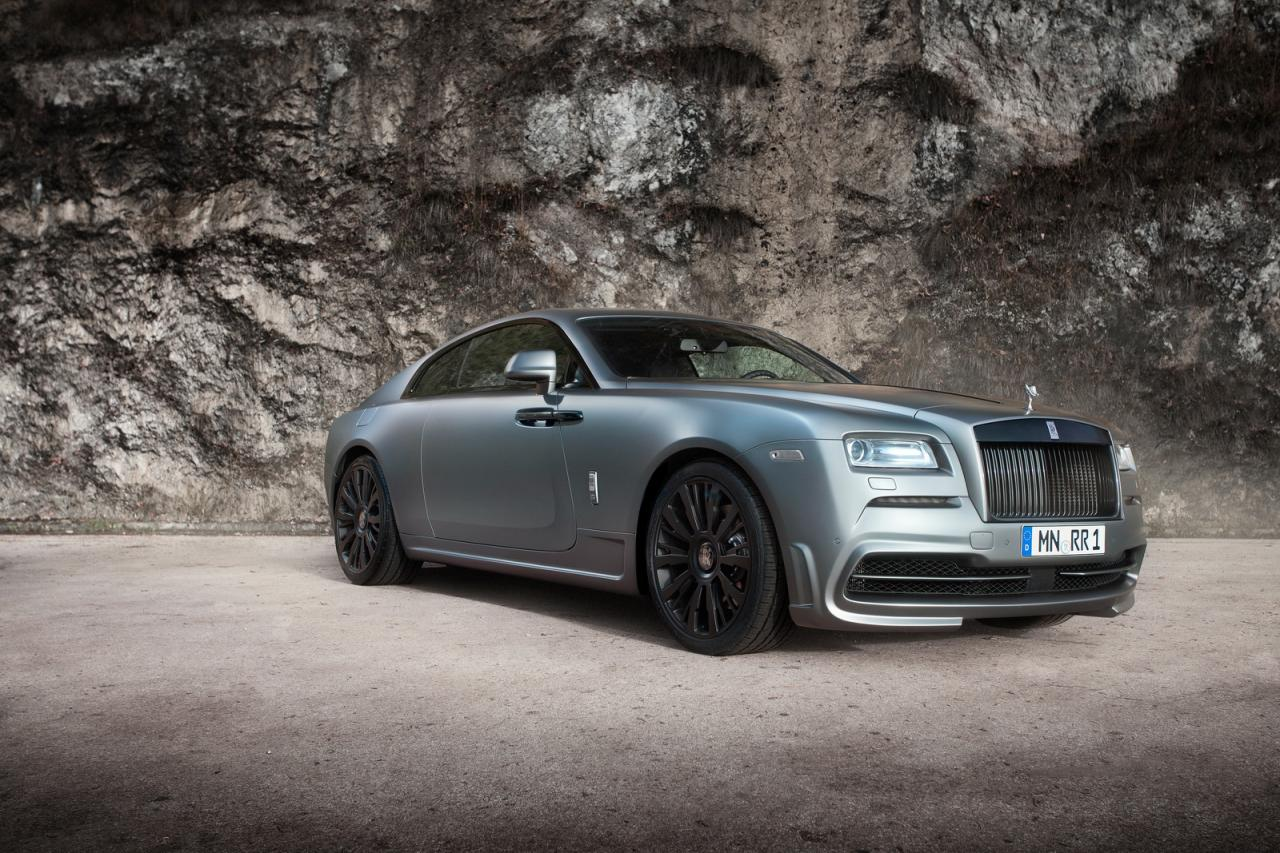 Rolls-Royce Wraith fully tuned by Spofec
