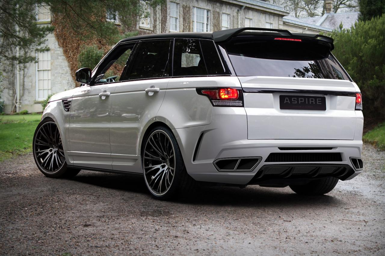 range rover sport by aspire design carz tuning. Black Bedroom Furniture Sets. Home Design Ideas