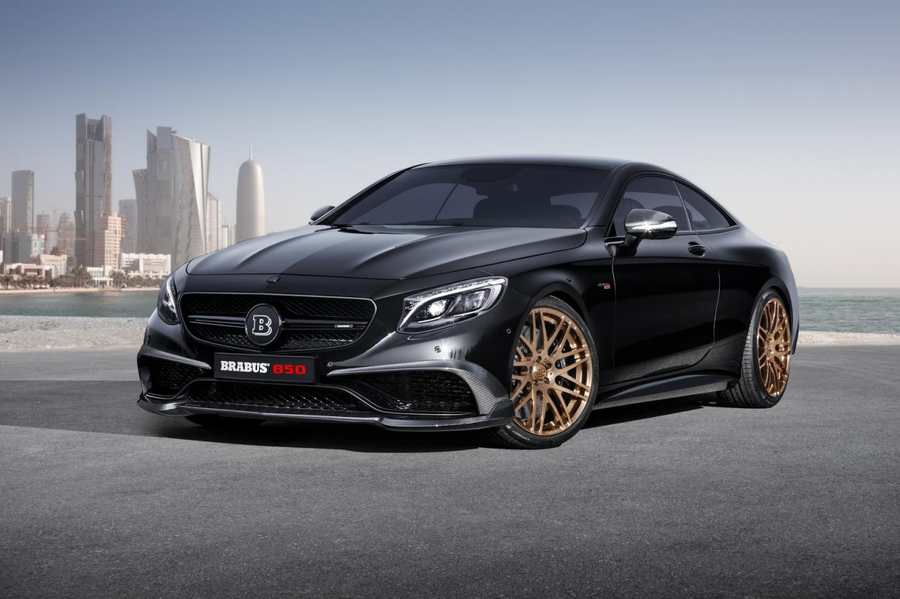 Mercedes S63 Coupe 4MATIC by Brabus