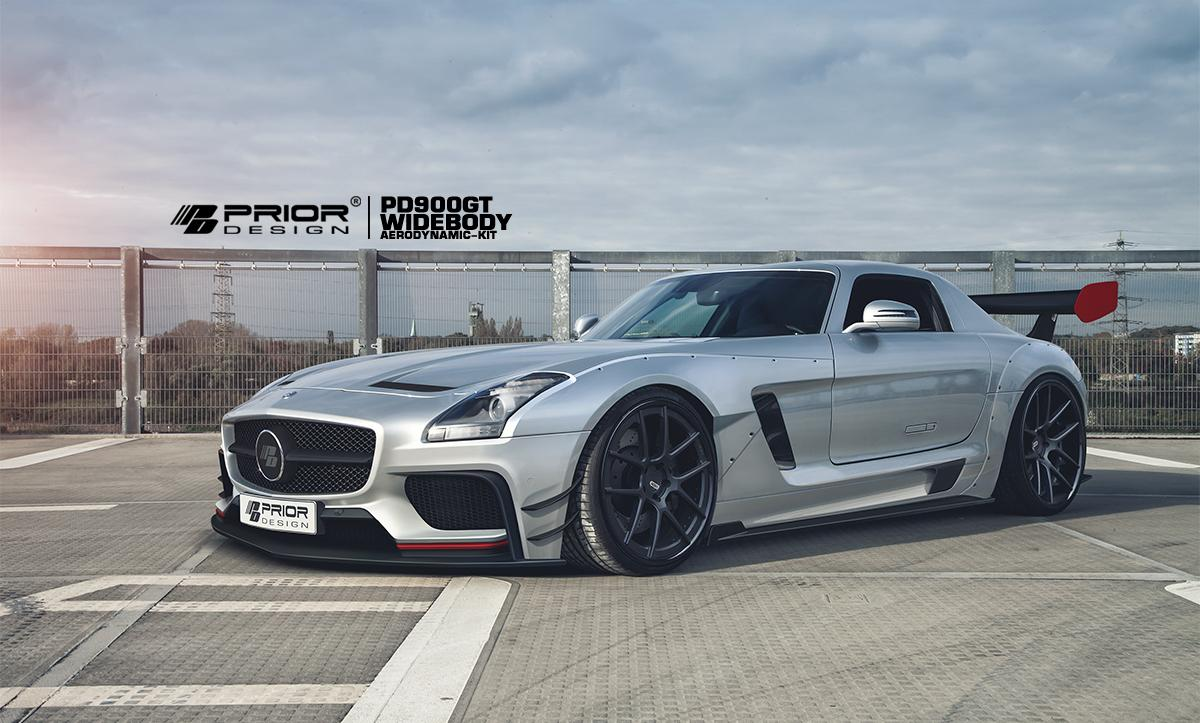 Mercedes SLS AMG by Prior Design