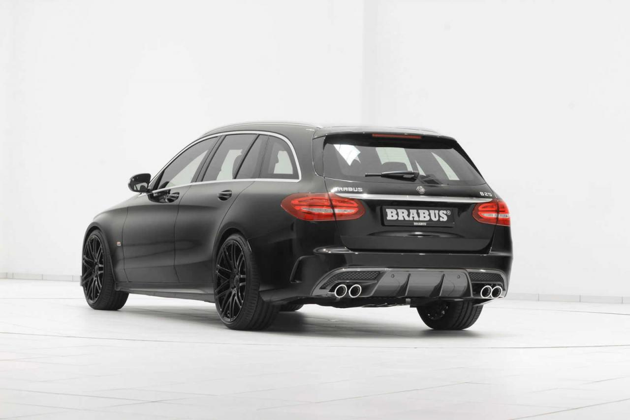 mercedes c class estate amg line by brabus carz tuning. Black Bedroom Furniture Sets. Home Design Ideas