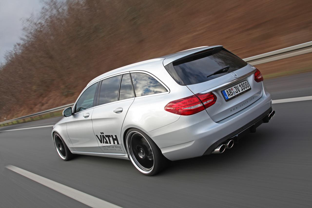 mercedes c class estate by vath carz tuning. Black Bedroom Furniture Sets. Home Design Ideas