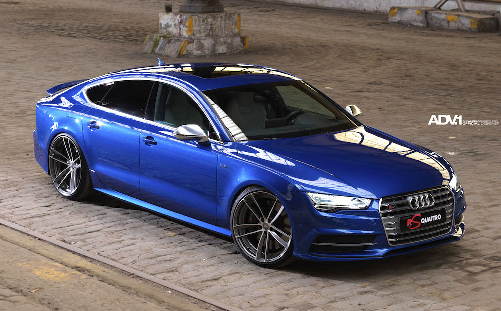 2015 Audi S7 RS Quattro Sits on ADV.1 Wheels