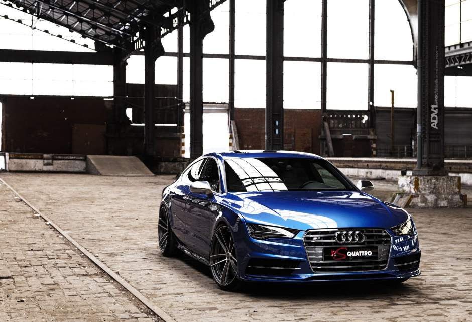 2015 audi s7 rs quattro sits on adv 1 wheels carz tuning. Black Bedroom Furniture Sets. Home Design Ideas