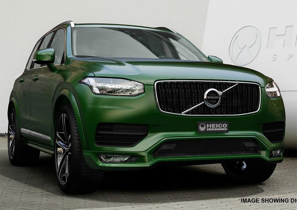 2015 Volvo XC90 Body Kit by Heico Sportiv