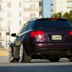 Audi RS4 on Vossen Wheels