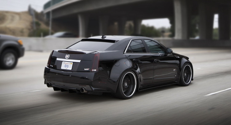 Cadillac Cts V Widebody Kit By D3 Carz Tuning