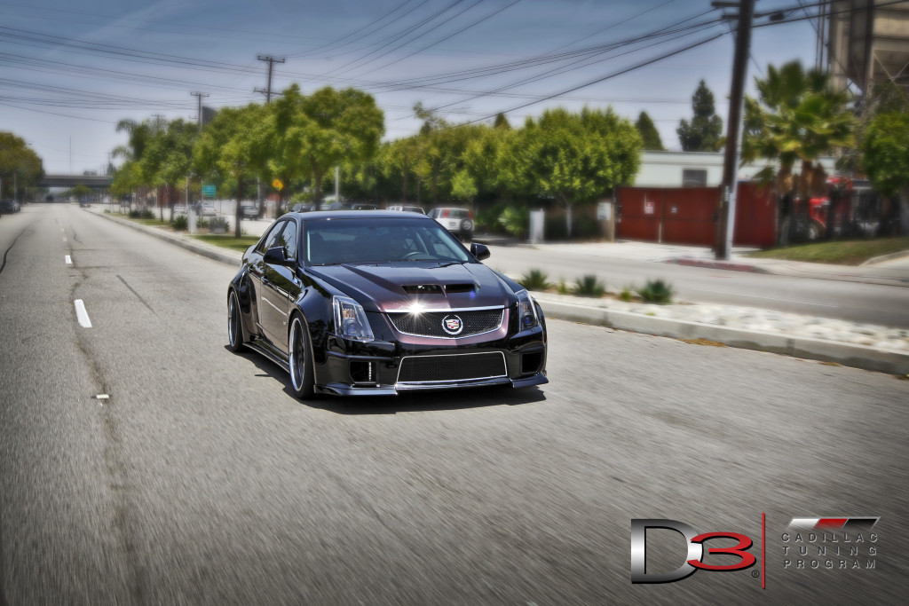 Cadillac CTS-V Widebody Kit by D3