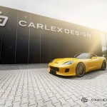 Chevrolet Corvette C6 Yellow Line by Carlex Design