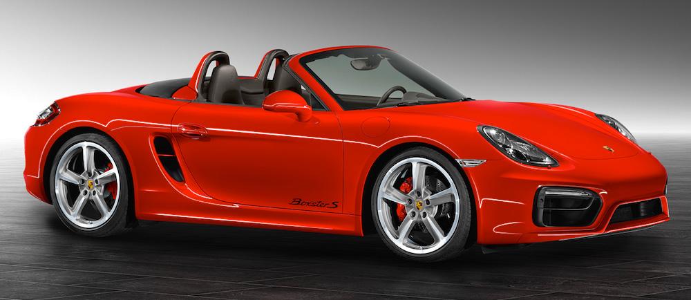 Guards Red Porsche Boxster S by Porsche Exclusive