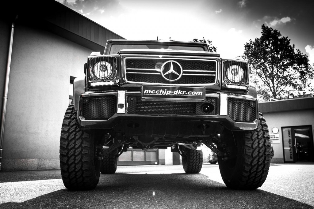 Mercedes-Benz G63 AMG Upgraded by mcchip-dkr