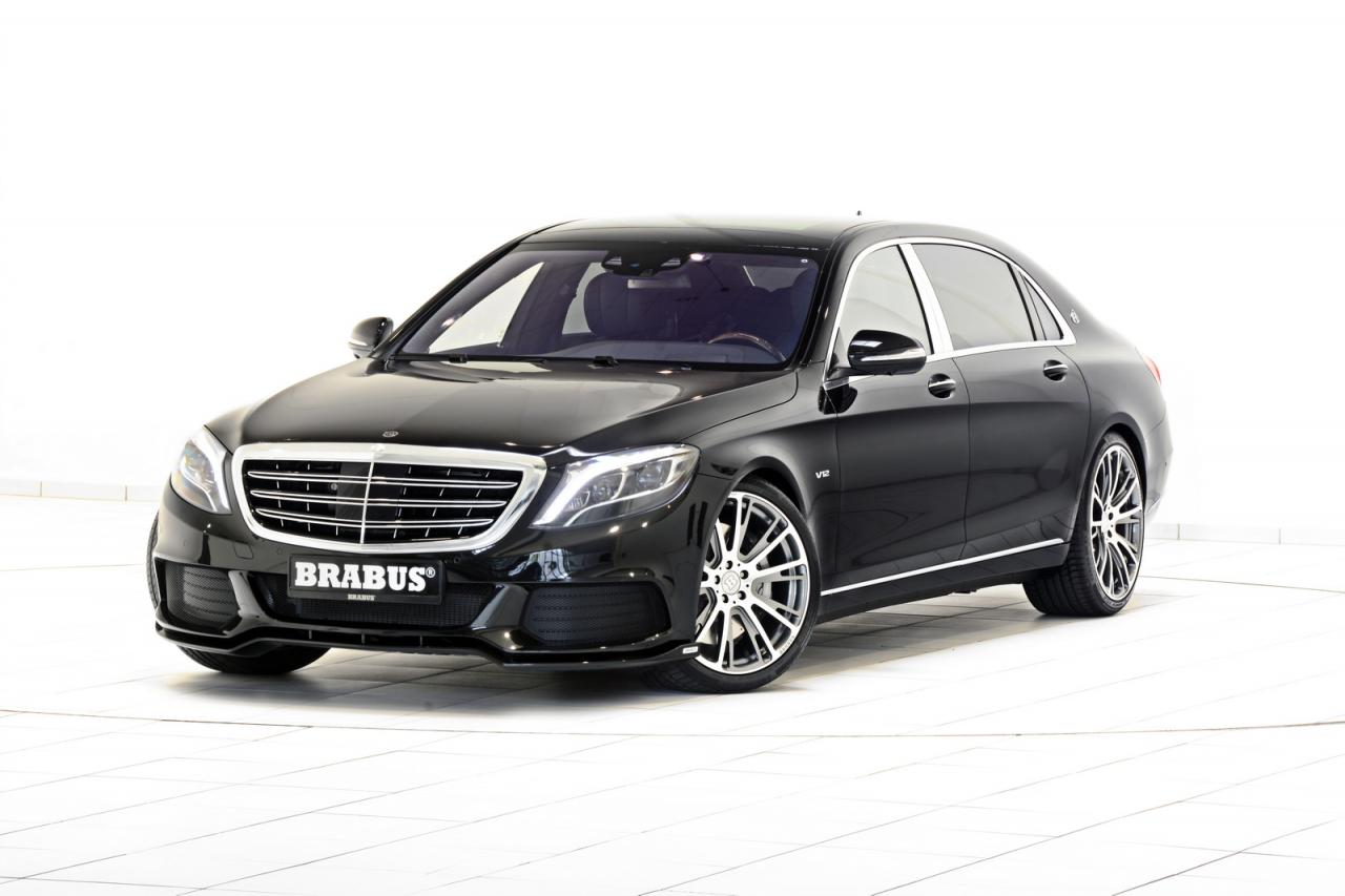 Mercedes-Maybach S600 by Brabus