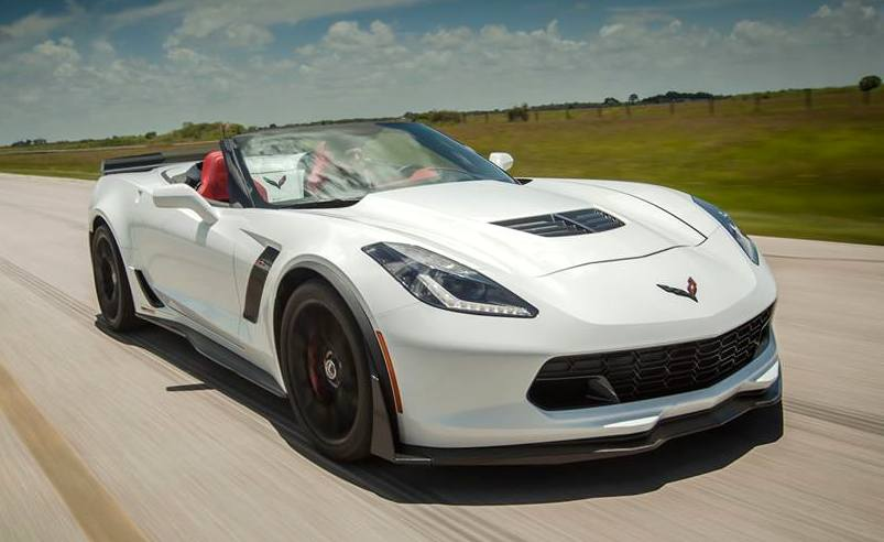 2015 Chevrolet Corvette Z06 HPE800 by Hennessey Performance, Revs Engine in Video