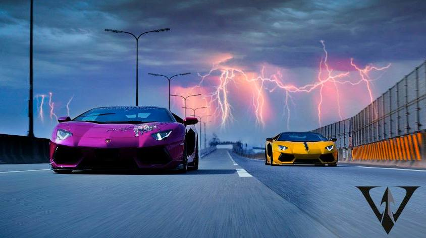 Lamborghini Aventador by Vitt Squalo, Photo Session Revealed