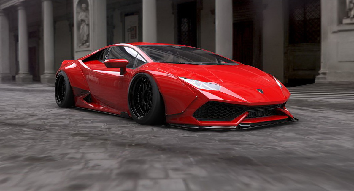 Lamborghini Huracan Liberty Walk Is an Impressive Ride