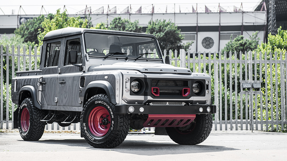 Land Rover Defender Pickup Chelsea Wide Track by Kahn Design