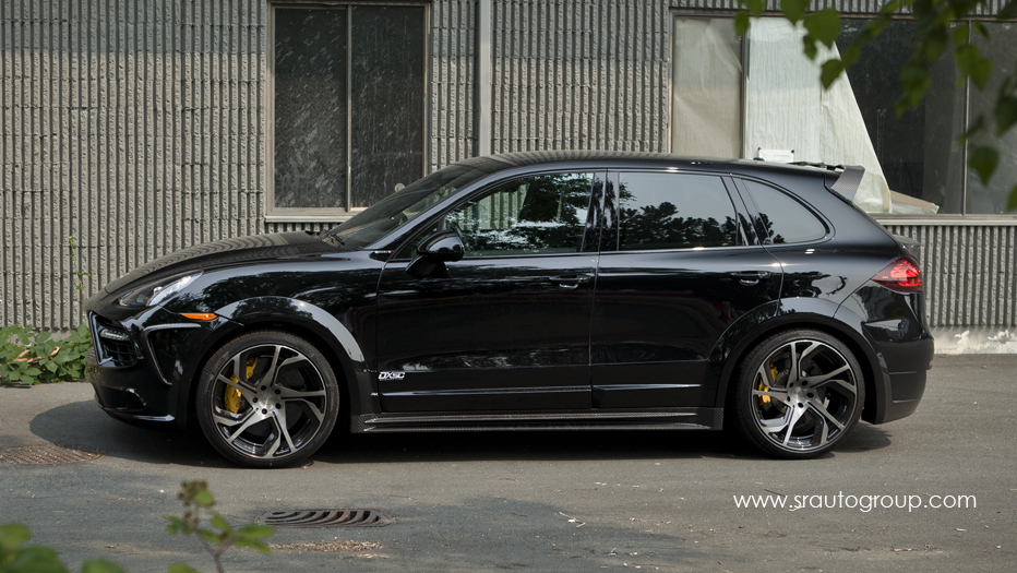 Mansory Porsche Cayenne by SR Auto Group