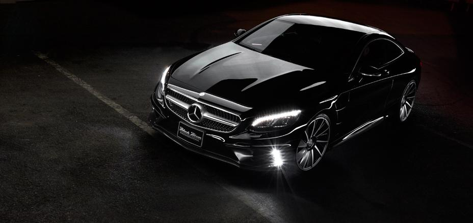 Mercedes-Benz S-Class Coupe by Wald International Pups-Up