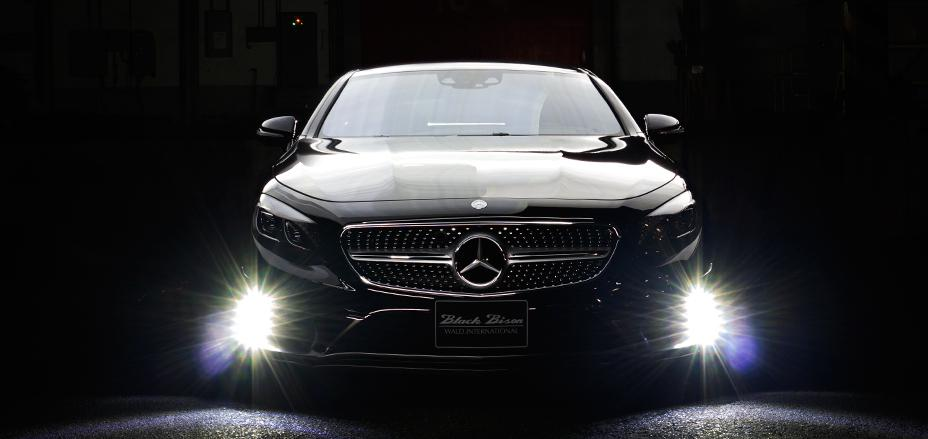Mercedes benz s class coupe by wald international pups up for Mercedes benz us international