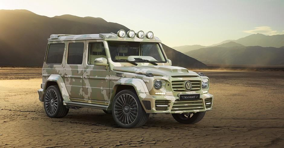 Mercedes G63 AMG by Mansory