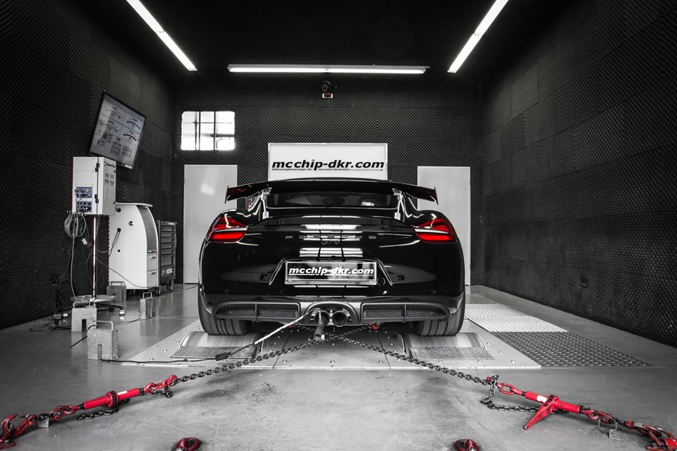 Porsche Cayman GT4 Power Kit by Mcchip-DKR