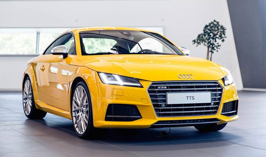 One-Off Audi TTS Exclusive Pops-Up at Audi Neckarsulm