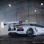 "Lamborghini Aventador Gets ""Zero Fighter"" Body Kit by Liberty Walk"
