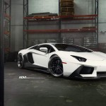 Lamborghini Aventador with ADV.1 Wheels