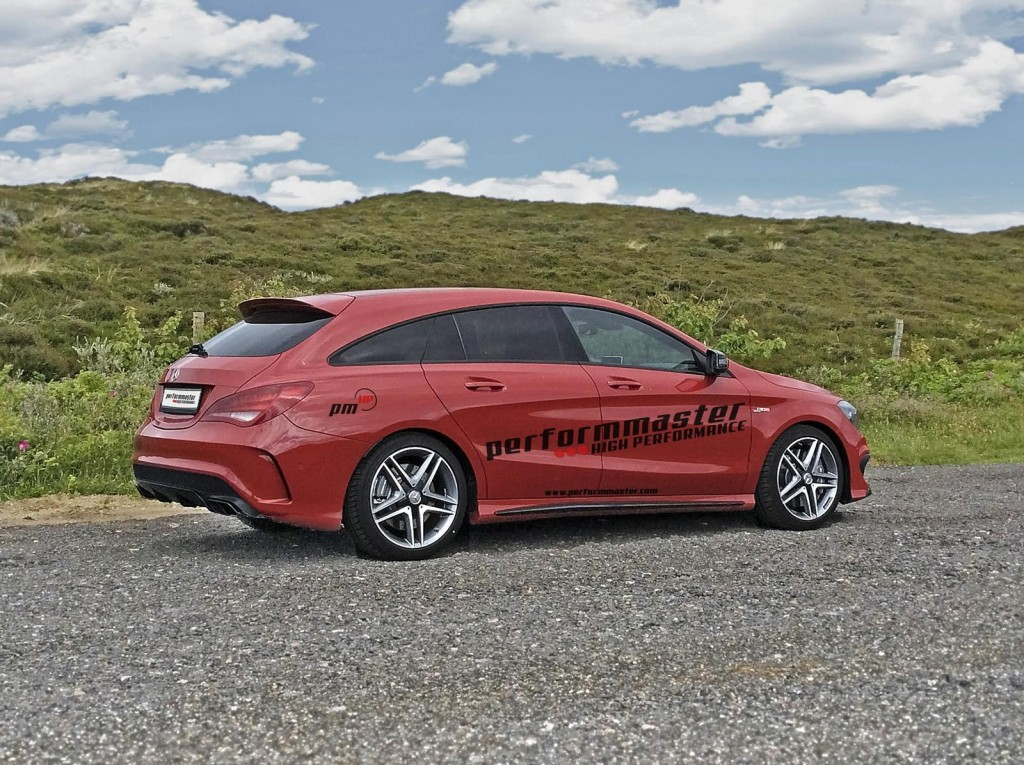Mercedes benz cla 45 amg shooting brake by performmaster for Mercedes benz amg cla 45