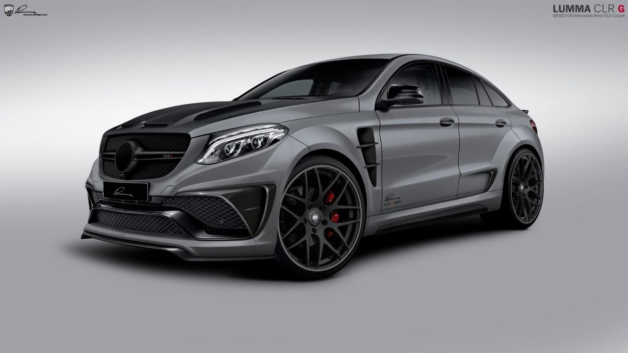 mercedes gle coupe by lumma design carz tuning. Black Bedroom Furniture Sets. Home Design Ideas