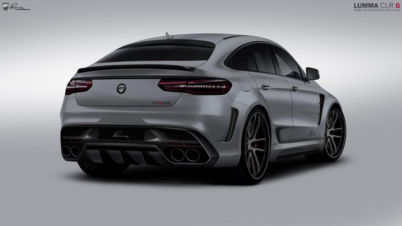 Mercedes GLE Coupe by Lumma Design