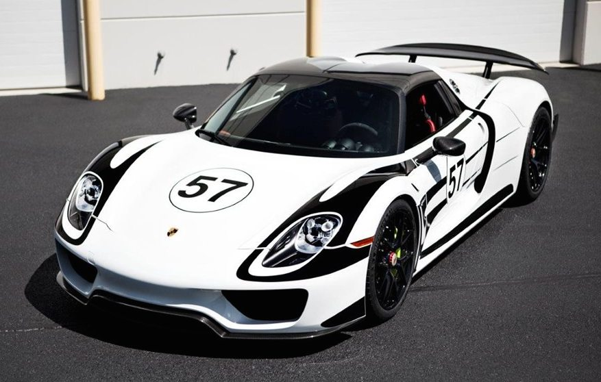 Porsche 918 Weissach Package by IND Distribution
