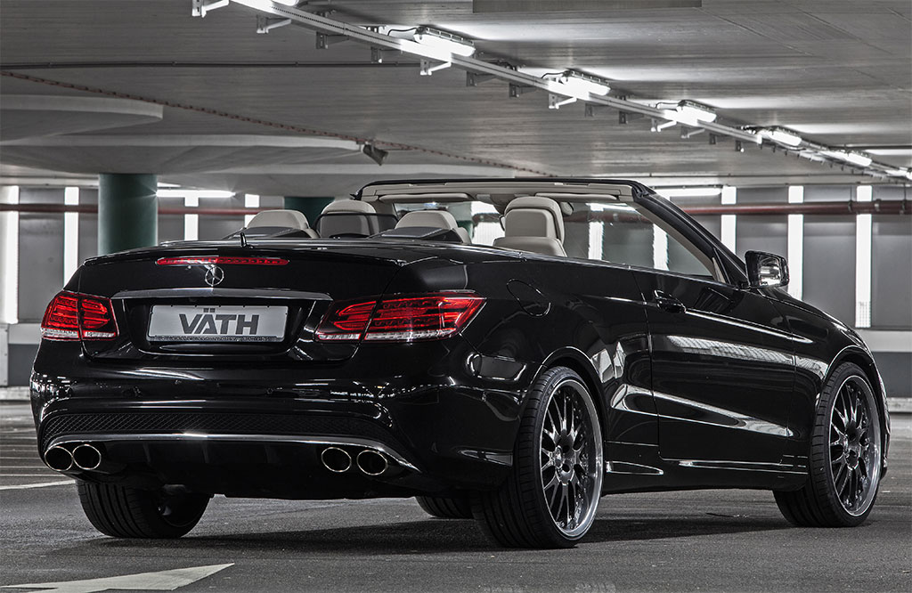 vath power boosts 2015 mercedes benz e500 cabrio carz tuning. Black Bedroom Furniture Sets. Home Design Ideas