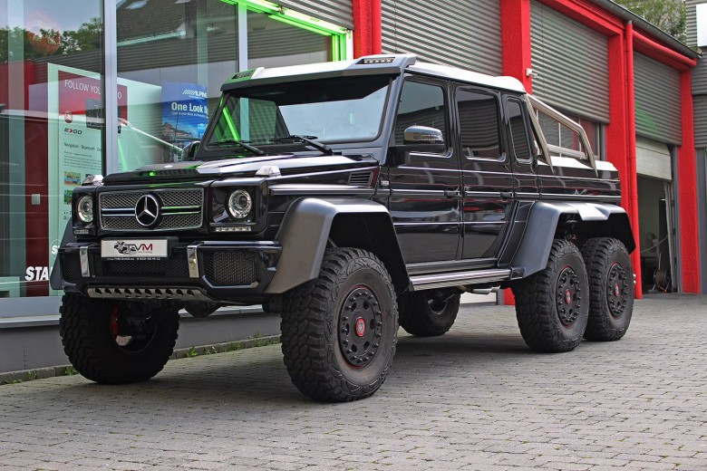 2015 Mercedes-Benz G63 AMG 6×6 Available for Sale