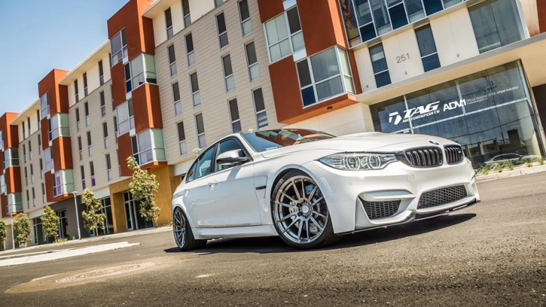 BMW M3 Fitted with ADV.1 Wheels, Installation by TAG Motorsports