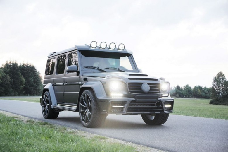 2015 Frankfurt: Mercedes-Benz G63 Gronos Black Edition by Mansory