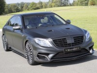 2015 Frankfurt: Mercedes S63 AMG Black Edition by Mansory