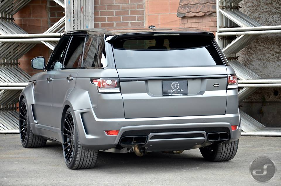Hamann Range Rover Sport By Ds Automobile Carz Tuning