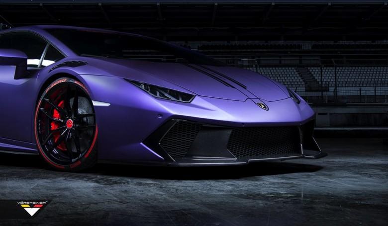 2015 SEMA Show: Lamborghini Huracan Novara by Vorsteiner Kicks Off