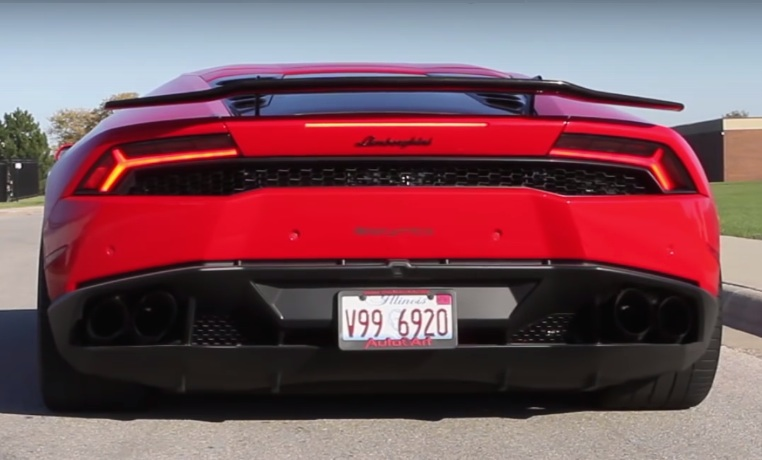 Video: Lamborghini Huracan with Armytrix Titanium Exhaust System