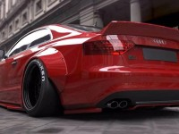 Liberty Walk Audi S5 Breaks Cover