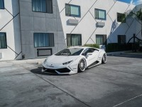 White Liberty Walk Lamborghini Huracan Customized by RDBLA