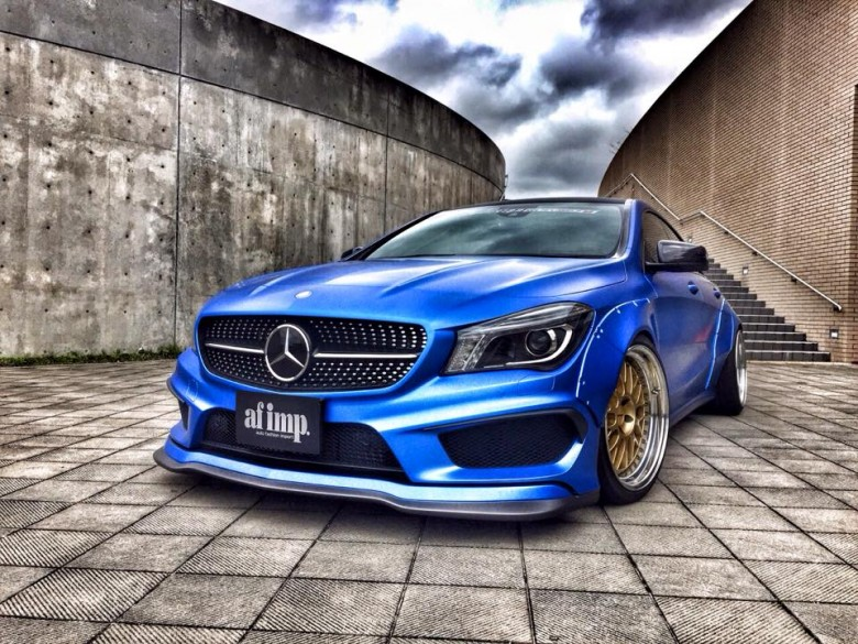 Mercedes CLA by Fairy Design