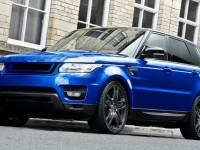 Gorgeous Estoril Blue Range Rover Sport by Kahn