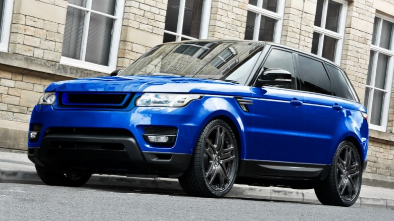 Gorgeous Estoril Blue Range Rover Sport by Kahn