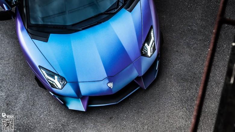 Lamborghini Aventador Dragon Sits on PUR Wheels, Installation by DMC