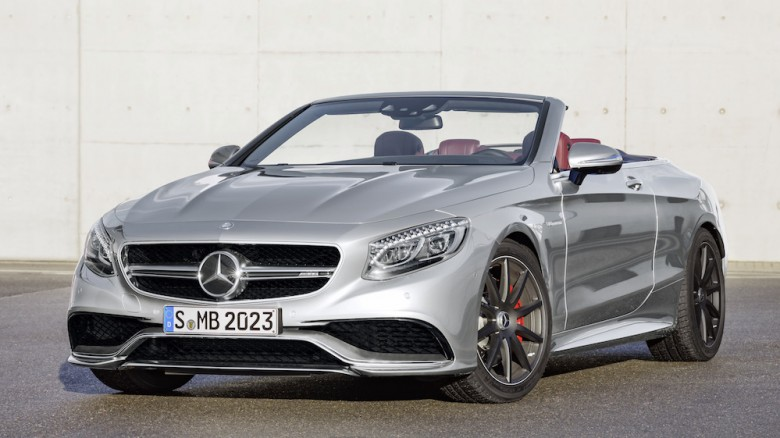 Mercedes-AMG S63 Cabriolet Celebrates Daimler`s 130th Anniversary