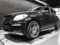 Mercedes ML63 AMG mc800 with Power Upgrades by Mcchip