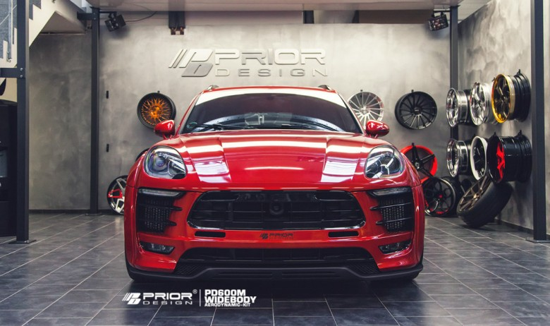 Porsche Macan by Prior Design Receives Wide Body Kit